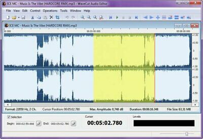 Abyssmedia WaveCut Audio Editor 5 License Download  (30s Delivery)