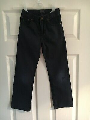 Polo Ralph Lauren Jeans Age 6 Navy *Hole In Knee*