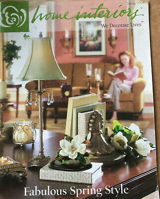 Home Interiors And Gifts Feb 2004 Brochure 16 Pg Catalog 5 5 X9 Free Shipping