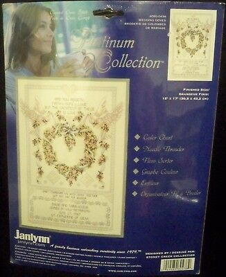JANLYNN COUNTED CROSS STITCH KIT CHAPEL OF HOPE Platinum Collection 7009-HL NEW