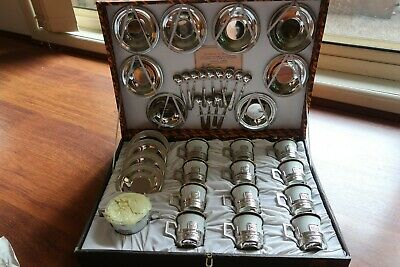 Brand New Antique Italian Expresso Coffee Set - with authenticity certificate
