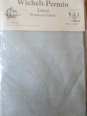 "Cross stitch Fabric Linen ""Natural "" New by Permin 28ct   27.5"" x 19.5"""