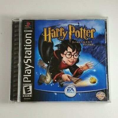 Harry Potter and the Sorcerers Stone PS1 Game Sony PlayStation 1 Complete Tested
