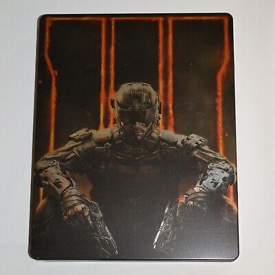 Call of Duty Black Ops III 3 PS4 Steelbook Including Game Like New (Unplayed)