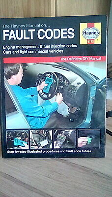 The Manual On Fault Codes 4175 Haynes New