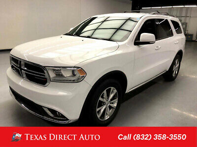 2015 Dodge Durango Limited Texas Direct Auto 2015 Limited Used 3.6L V6 24V Automatic RWD SUV
