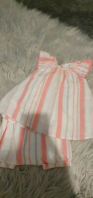 Baby Girls Next Summer Outfit Age 3-6Mths Exc Cond
