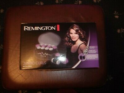 Remington Jumbo Curls Rollers Ho747 Used Once