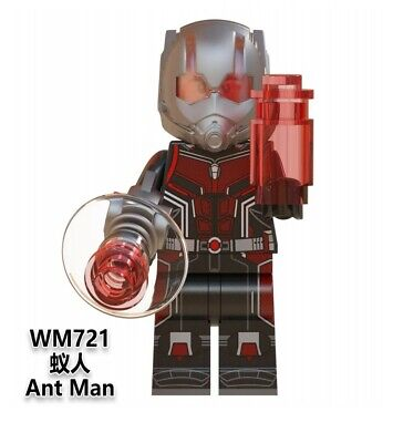 Lego fit mini figures Marvel Avengers End game Ant Man
