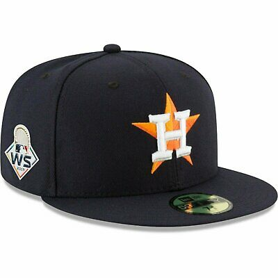 Houston Astros New ERA 2019 MLB World Series With Side Patch 59FIFTY Fitted Hat