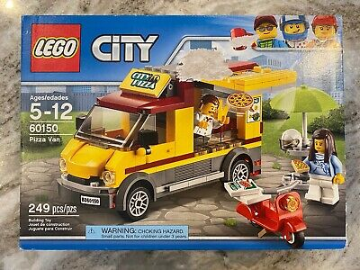 Lego City set Great Vehicles Pizza Van 60150 Building Toy Unopened Sealed A5