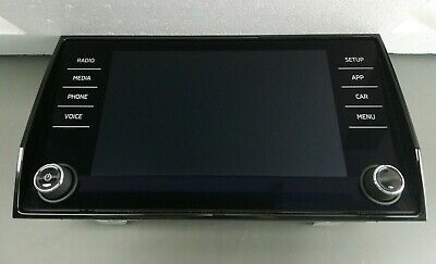 SKODA KAROQ GPS Display Bedieneinheit Touchscreen Monitor 565919605C