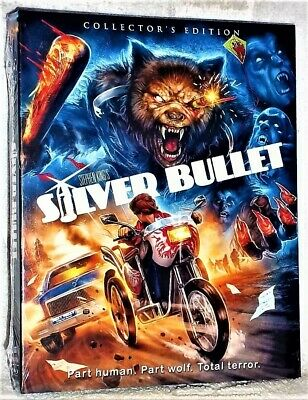 Silver Bullet (Blu-ray, 2019) NEW Corey Haim Gary Busey horror Stephen King
