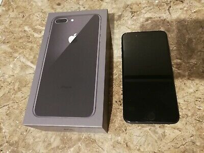 Apple iPhone 8 Plus - 256GB - Space Grey (EE) A1897 (GSM) unlocked from EE.
