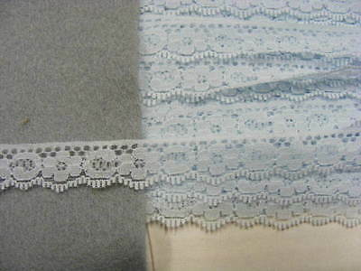 Flat Lace Blue - 50 metres (PWF)  SECOND