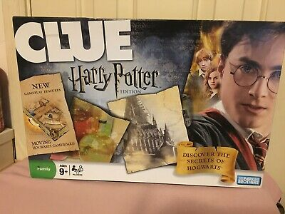 Clue Harry Potter Edition - Parker Brothers Board Game - played, complete