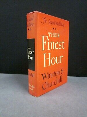 Winston Churchill   The Second World War Series   Their Finest Hour   No. 2
