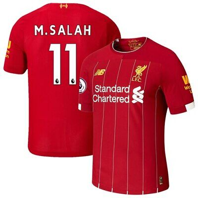 Mohamed Salah Liverpool New Balance 2019/20 Home Authentic Player Jersey - Red