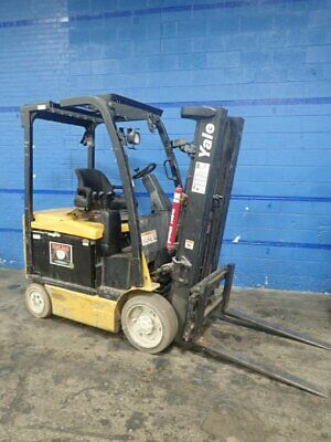 Yale  Erc050Vgn36Te085 Electric Forklift 4800 Lbs 11191790009
