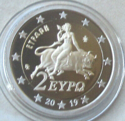 Griechenland 2019 - 2 Euro aus KMS in PP / Proof
