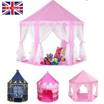 2 Style Children Kids Baby Pop Up Play Tent Fairy Girls Boys Playhouse Outdoor H