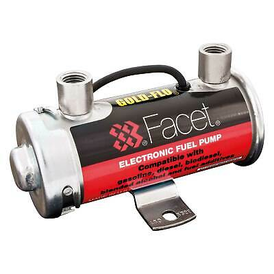 Facet 12v Cylindrical Electronic/Electric Fuel Pump - Race/Racing/Rally/Kit Car