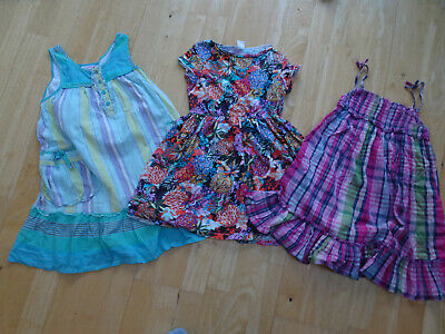 NEXT girls 3 pack summer dresses bundle AGE 7 YEARS EXCELLENT COND