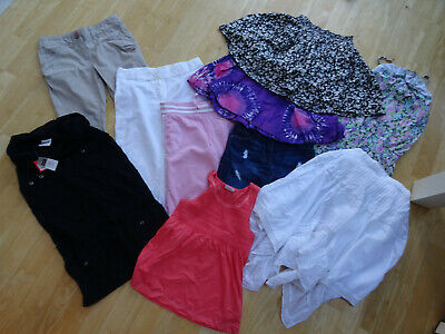 NEXT girls 10 piece summer clothes bundle skirt trousers top AGE 7 YEARS EXCELLE
