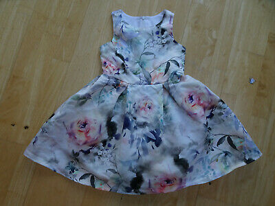 NEXT girls stunning floral summer party occasion dress AGE 7 YEARS EXCELLENT