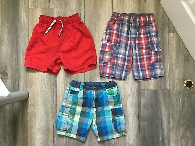 Lovely Bundle Of Boys Summer Shorts & Swimming Shorts Ages 5-6 By Next & Nutmeg