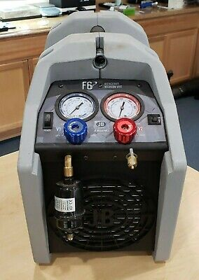 JB Industries F6-DP Refrigerant Recovery Machine Pre-owned Free Shipping