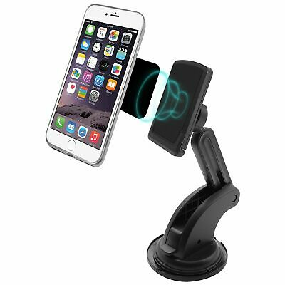 Magnetic Suction Cup Phone Mount with Telescopic Arm for iPhone/smartphone (TELE