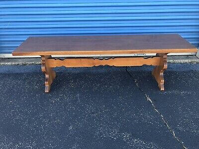 Tell City Chair Company Solid Hard Rock Maple Andover Long Bench