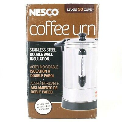 NESCO 30 Cup Coffee Urn Model CU-30 - Powers On