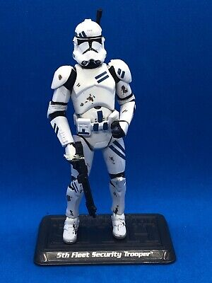 Star Wars Saga 5Th Fleet Security Clone Trooper Loose Complete
