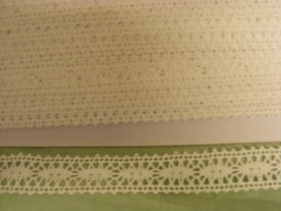 Cluney White Galloon Lace 23mm Wide (7009) 15mts