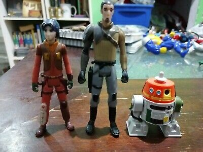 STAR WARS REBELS animated series CHOPPER EZRA KANAN FIGURE toy astromech