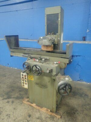 """Mitsui Msg-250H-2Ah Surface Grinder 8"""" X 18"""" 12191740002"""
