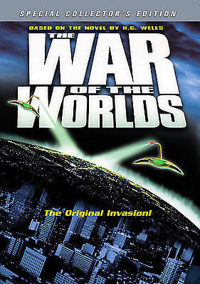The War of the Worlds (DVD, 2005, Collectors Edition)