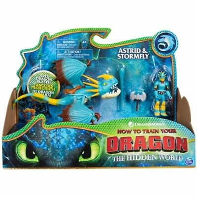 How To Train Your Dragon Hidden World Astrid and Stormfly Action Figure