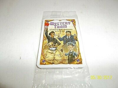 Ticket To Ride Mystery Train Promo Expansion NEW SEALED