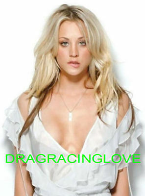 "Gorgeous ""Big Bang"" Actress ""Kaley Cuoco"" SEXY BUSTY ""Pin Up"" PHOTO! #(36b)"
