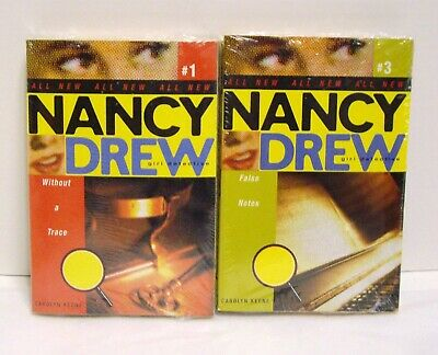 Lot 4 Nancy Drew Girl Detective Paperback Chapter Books Vol. 1-4 NEW Sealed