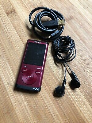 Sony mp3 walkman 6.99GB NWZ-E354 Tested