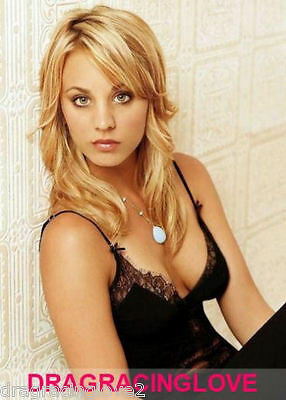 "Gorgeous ""Big Bang"" Actress ""Kaley Cuoco"" SEXY ""Pin Up"" PHOTO! #(22)"