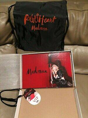 MADONNA Rebel Heart VIP Tour Book Limited Edition Madame X