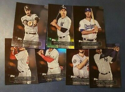 2019 Topps Series 1 Stars of the Game Foil Inserts You Pick From List