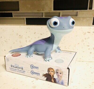 Disney Frozen 2 Bruni The Salamander Mood Color Changing Night Light Figure