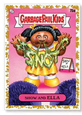 Garbage Pail Kids 2020 Late To School 1/1 Gold Poster Show And Ella SoldOut10x14