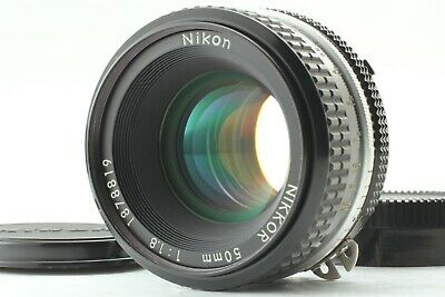 【Mint】 Nikon Nikkor 50mm f/1.8 Ai Manual Focus Lens From Japan #030